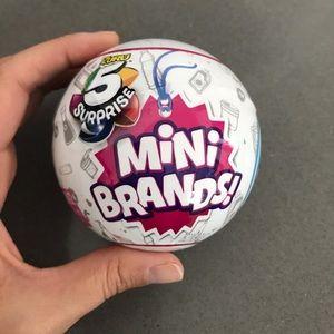 Mini Brands   5 ball lot Authentic